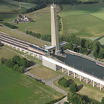 Fly over the Inclined Plane of Ronquières in DPM (30 minutes)