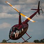 Luchtdoop R44 30 minuten voor 3 personen